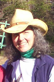 Janice Tipton, your host, guide and head buckaroo at Twin Valley Bed & Breakfast Horse Ranch