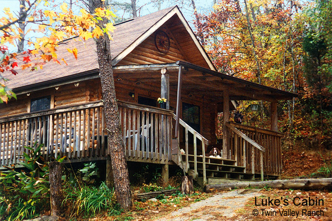 Luke's Cabin - private & pet-friendly